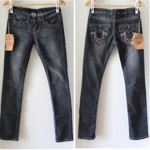 True Religion Joey Super T Straight Leg Jeans